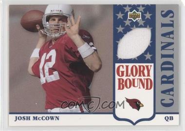 2002 UD Authentics - Glory Bound Jerseys #GBJ-JM - Josh McCown