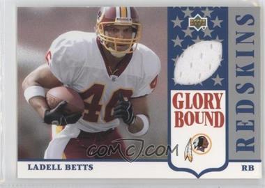 2002 UD Authentics - Glory Bound Jerseys #GBJ-LB - Ladell Betts