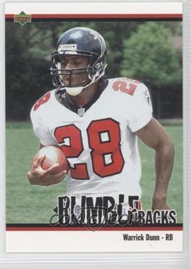 2002 UD Authentics - Rumble Backs #RB-14 - Warrick Dunn