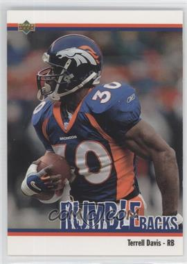 2002 UD Authentics - Rumble Backs #RB-4 - Terrell Davis