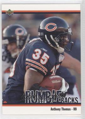 2002 UD Authentics - Rumble Backs #RB-5 - Anthony Thomas