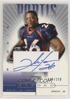 Clinton Portis [Good to VG‑EX] #/250