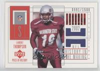 Lamont Thompson #/1,500