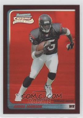 2003 Bowman Chrome - [Base] - Red Refractor #195 - Andre Johnson /235