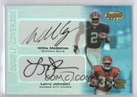 Willis McGahee, Larry Johnson #/50