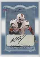 Willis McGahee #/125
