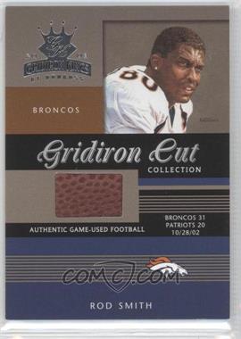 2003 Donruss Gridiron Kings - Gridiron Cut Collection #GC-89 - Rod Smith /275