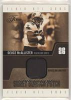 Deuce McAllister [EX to NM] #/25