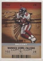 Warrick Dunn #176/250