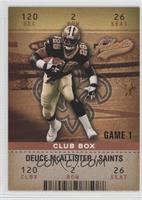Deuce McAllister #/100