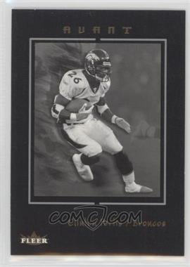 2003 Fleer Avant - [Base] - Black #29 - Clinton Portis /199
