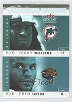 Ricky Williams, Fred Taylor