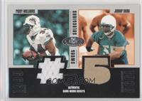 Ricky Williams, Junior Seau #/325