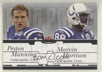Peyton Manning, Marvin Harrison #/250