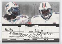 Ricky Williams, Chris Chambers #/250