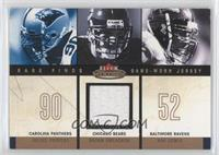 Julius Peppers, Brian Urlacher, Ray Lewis (Urlacher Jersey) #/299