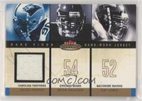 Julius Peppers, Brian Urlacher, Ray Lewis (Peppers Jersey) [EXtoNM]…