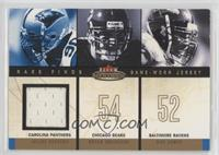 Julius Peppers, Brian Urlacher, Ray Lewis (Peppers Jersey) [Noted] #/299