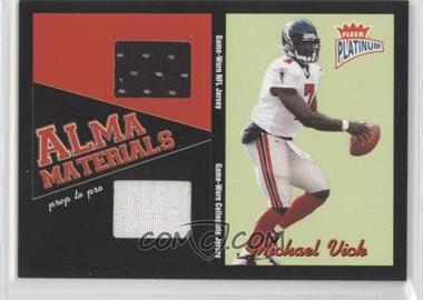 2003 Fleer Platinum - Alma Materials - Prep to Pro #AMD-MV - Michael Vick /200