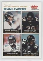 Mark Brunell, Fred Taylor, Jimmy Smith, Marlon McCree /200