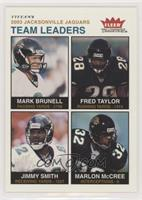 Mark Brunell, Fred Taylor, Jimmy Smith, Marlon McCree #/200