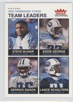 Steve McNair, Eddie George, Derrick Mason, Lance Schulters /200