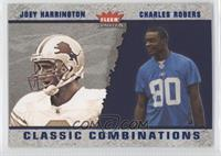 Joey Harrington, Charles Rogers #/750