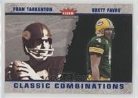 Fran Tarkenton, Brett Favre #/375