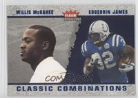 Edgerrin James, Willis McGahee #/1,500