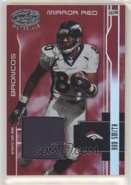 2003 Leaf Certified Materials - [Base] - Mirror Red Materials [Memorabilia] #40 - Rod Smith /150