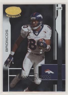 2003 Leaf Certified Materials - [Base] #40 - Rod Smith