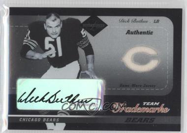 2003 Leaf Limited - Team Trademarks #LT-13 - Dick Butkus /50