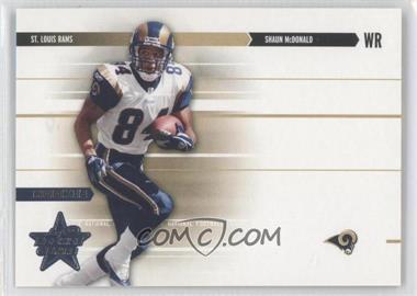 2003 Leaf Rookies & Stars - [Base] #243 - Shaun McDonald /750