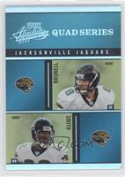 Mark Brunell, Jimmy Smith, David Garrard, Fred Taylor