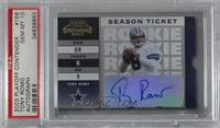 Tony Romo [PSA 10 GEM MT] #/999
