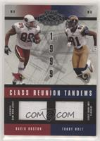 David Boston, Torry Holt [Noted] #/150