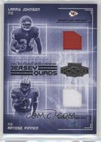 Artose Pinner, Nate Burleson, Onterrio Smith, Larry Johnson /250