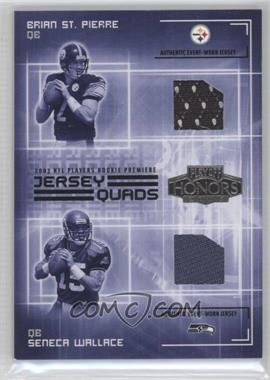 new arrival d37d5 c22b5 2003 Playoff Honors - Quads - Jersey #JQ-4 - Rex Grossman ...