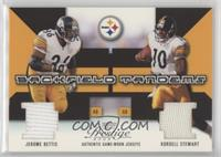 Jerome Bettis, Kordell Stewart [Noted] #/400