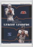 Peyton Manning, Michael Vick, Tom Brady, Kerry Collins /500