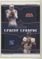 Peyton Manning, Michael Vick, Tom Brady, Kerry Collins #/500