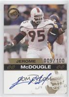 Jerome McDougle #/100