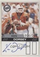 Ken Dorsey #/200