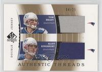 Tom Brady, Kliff Kingsbury #/25