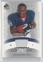 Willis McGahee #/850