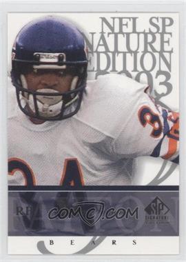 2003 SP Signature Edition - [Base] #34 - Walter Payton