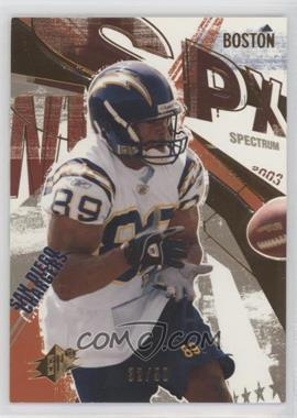2003 SPx - [Base] - Spectrum #49 - David Boston /50