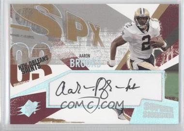 2003 SPx - Supreme Signatures #SS-AB - Aaron Brooks