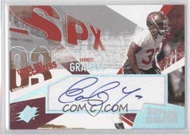 2003 SPx - Supreme Signatures #SS-EG - Earnest Graham