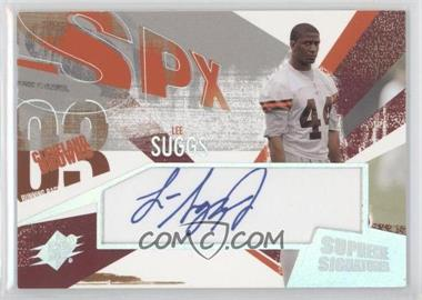 2003 SPx - Supreme Signatures #SS-LS - Lee Suggs